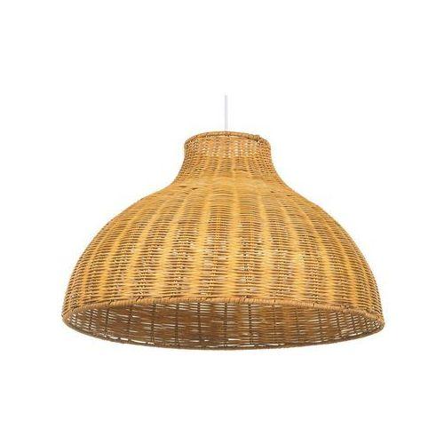 Lampa wisząca rattan jasne drewno MILLIAN (4260624119199)