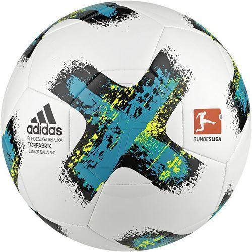 Adidas Piłka halowa  bundesliga torfabrik junior sala 350 bs3536