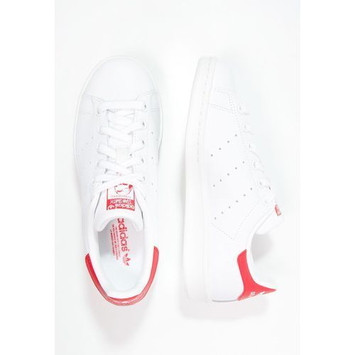 adidas Originals STAN SMITH Tenisówki i Trampki running white/collegiate red