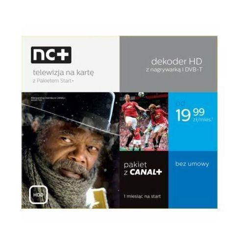 Telewizja na kartę NC+ Pakiet Start+ (130 kanałów z Canal+, 1 m-c na start)