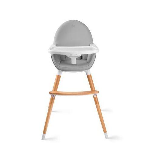 Krzesełko do karmienia KINDERKRAFT FINI 2w1 Szary + DARMOWY TRANSPORT!, 5_648640