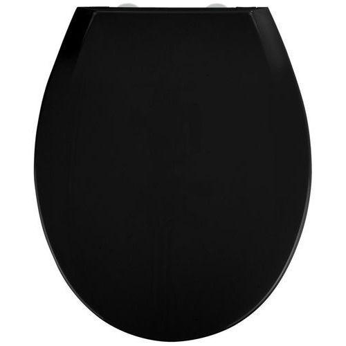 Uniwersalna deska sedesowa w kolorze czarnym z tworzywa Thermoplast z innowacyjnym systemem montażu (4008838253915)