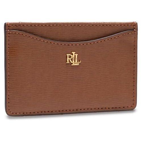 Etui na karty kredytowe LAUREN RALPH LAUREN - Slim Card Cs 432787761002 Lauren Tan