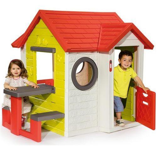 Smoby Domek My House ze stolikiem, 810401 (7706636)