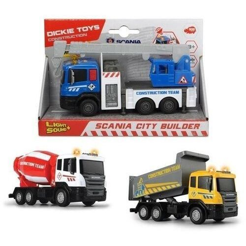 City bulider pojazdy budowlane 3 rodzaje marki Simba
