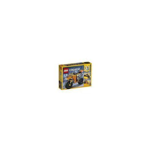 Lego creator. motocykl z bulwaru zachodzącego słońca 31059