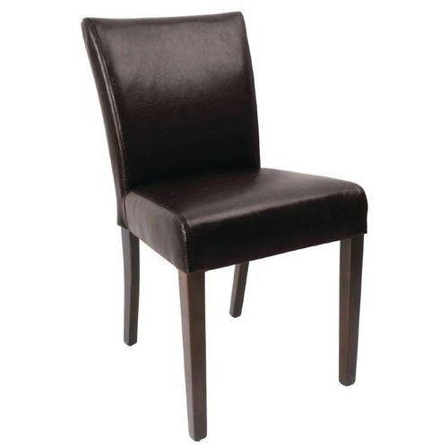 Krzesło ciemnobrązowe | 2 szt. marki Bolero