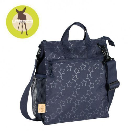 casual label torba do wózka reflective star navy marki Lassig