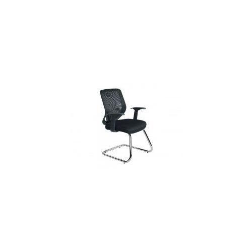 Krzesło biurowe mobi skid czarne marki Unique meble