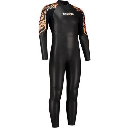 Dare2Tri To Swim Mężczyźni pomarańczowy/czarny LT 2018 Pianki do pływania