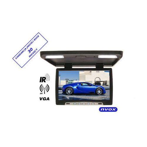 "NVOX RF1590 BL Monitor podwieszany podsufitowy LCD 15"" cali LED IR FM VGA 12V 24V (5909182415273)"