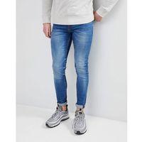 skinny jean in mid blue wash - blue marki New look