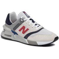 Sneakersy - ms997los beżowy kolorowy marki New balance