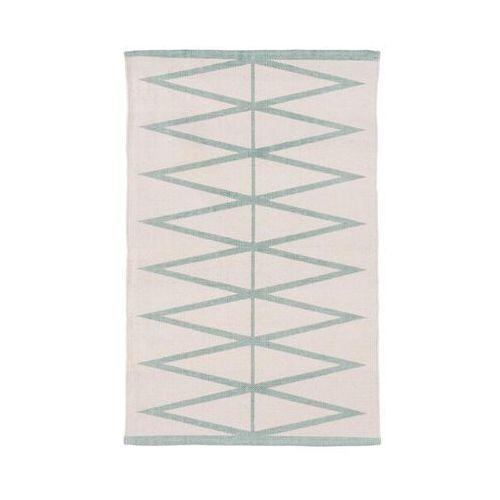Dywan bawełniany mauro miętowy 60 x 90 cm marki Inspire