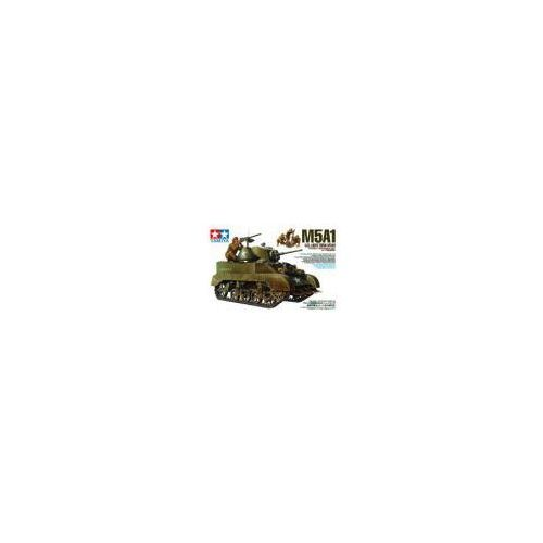 "Tamiya U.s. light tank m5a1 ""pursuit operation"" set (w/4 figures)"
