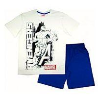 "Męska piżama Avengers ""Captain America"" niebieska L, kolor niebieski"