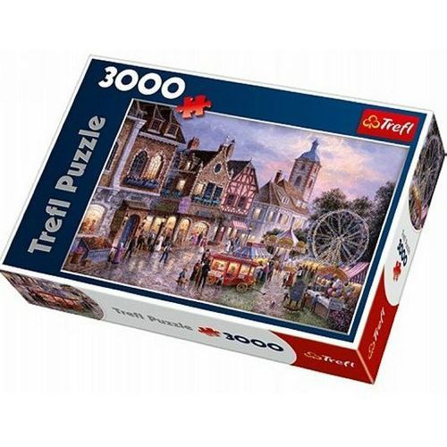 Puzzle  wesołe miasteczko 3000 elementów marki Trefl