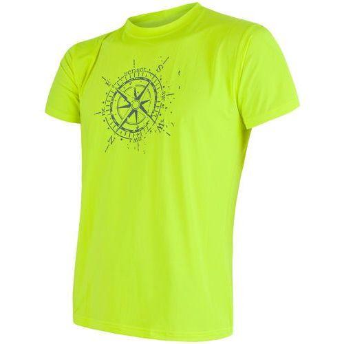 Sensor koszulka męska coolmax fresh pt kompas yellow m