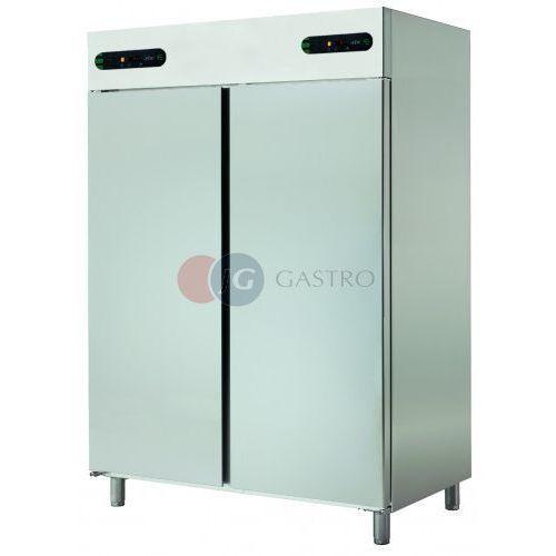 Szafa chłodnicza dwutemperaturowa 2-drzwiowa 2x700 l ECP-1402/2