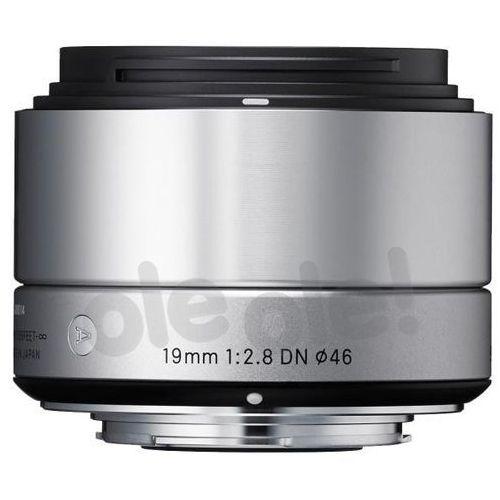 Sigma 19 mm f/2,8 DN A (srebrny) Sony E - produkt w magazynie - szybka wysyłka!, OSDSE19/2.8 A DN S