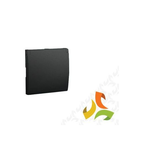 Pokrywa gniazda pojedynczego z/u hermetyczna IP44, matowy grafit metalik MGZ1BP/28 SIMON CLASSIC, MGZ1BP/28/KON