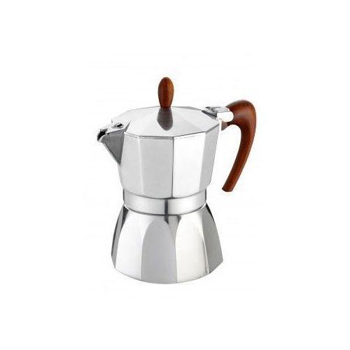 Kawiarka gat magnifica 6 tz srebrno-brązowy marki G.a.t