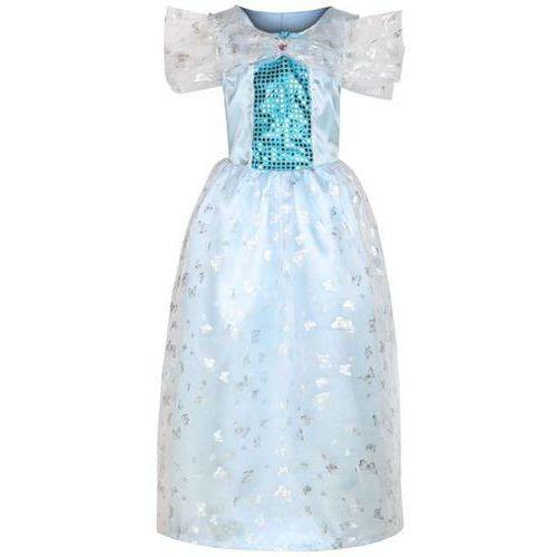 """Strój dla dzieci """"sukienka księżniczki"""", niebieska, , rozm. 130/140 marki Kraszek"""