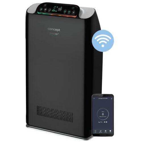 Concept oczyszczacz powietrza ca2000 perfect air smart czarny (8595631009345)