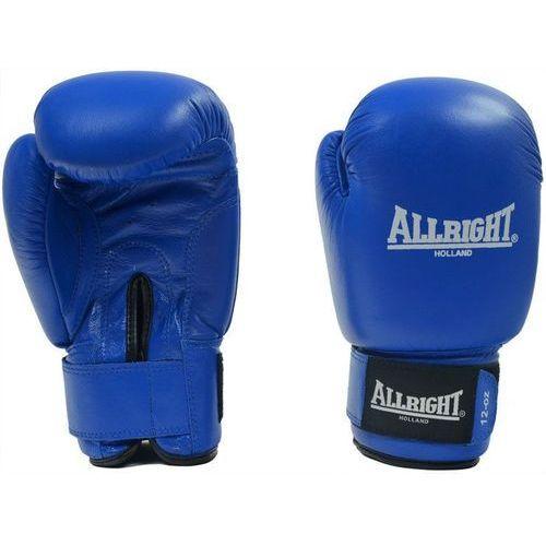 Allright Rękawice bokserskie pvc 10 oz niebieskie (2010000349274)