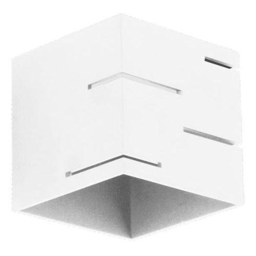 Lampex Kinkiet quado modern a biały - biały