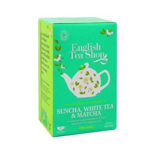 ETS Sencha White Tea & Matcha 20 saszetek, 3102