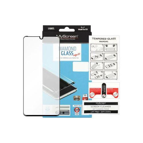 Huawei p30 pro - szkło hartowane diamond glass edge 3d - czarne marki Myscreen protector