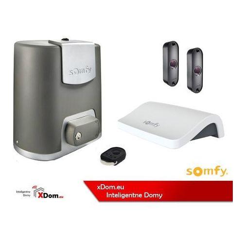 Somfy 1000057 zestaw elixo smart io pack ee connect: napęd, 1x keygo, zestaw fotokomórek, connexoon)