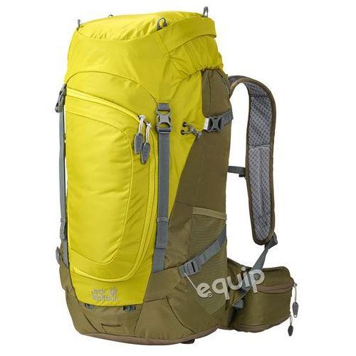Plecak turystyczny crosser 34 - wild lime marki Jack wolfskin