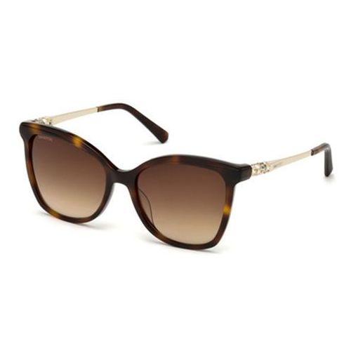 Okulary słoneczne sk0154-h 52f marki Swarovski