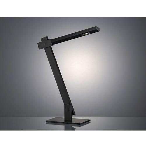 Lampka stojąca biurkowa Spotline Mecanica 6W LED SMD 3000K czarna 146050, 146050