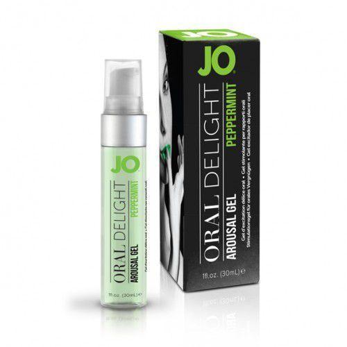 Żel do seksu oralnego - System JO Oral Delight Peppermint Pleasure 30 ml Mięta, SY011C
