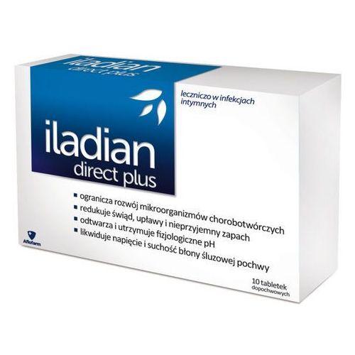 Tabletki ILADIAN Direct Plus x 10 tabletek dopochwowych