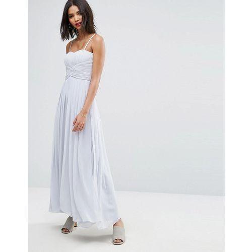 molly maxi dress in grey - grey, Y.a.s, 34-42