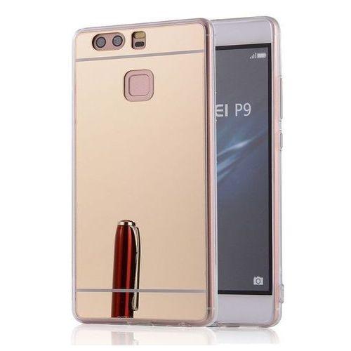 Slim Mirror Case Złoty | Etui dla Huawei P9