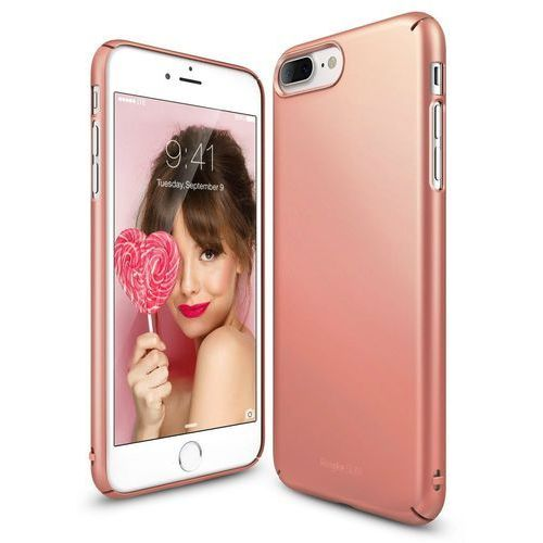 Rearth ringke Ringke slim iphone 7 plus rose gold (8809512154636)
