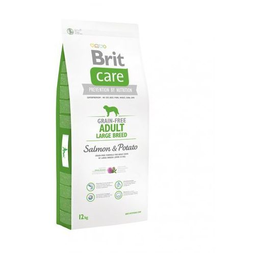 care grain-free adult large salmon & potato 2x12kg marki Brit