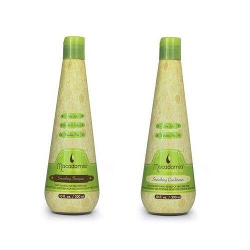 Macadamia  zestaw wygładzający | smoothing shampoo 300ml, smoothing conditioner 300ml (9753197531796)