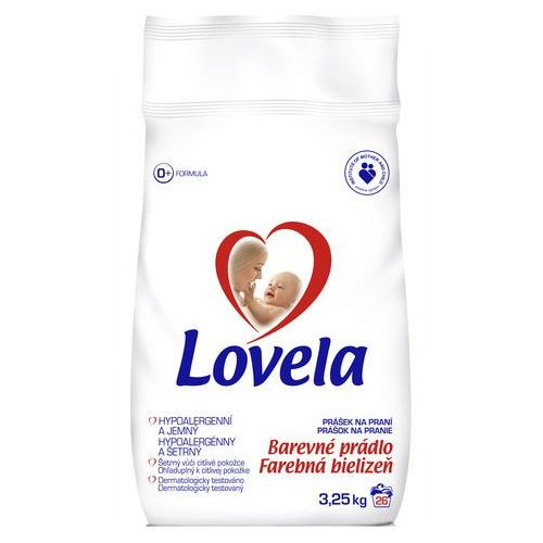Lovela proszek do prania hipoalergiczny do koloru 3,6 kg (5900627037807)