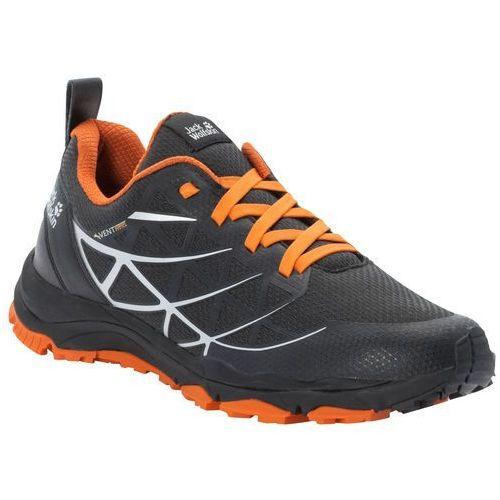 Jack wolfskin Buty sportowe męskie trail blaze vent low m black / orange - 10,5
