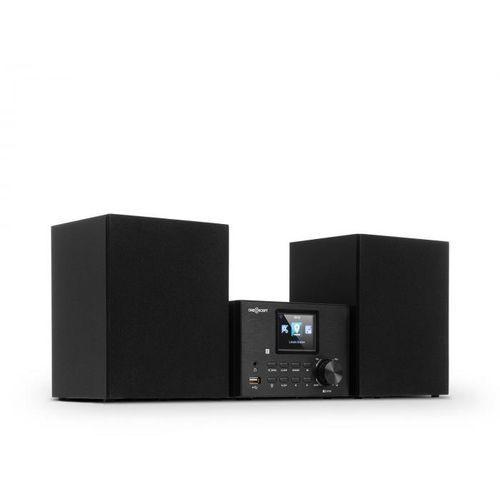 Oneconcept system stereo streamo z radiem internetowym wlan dab + odtwarzacz cd fm bt black