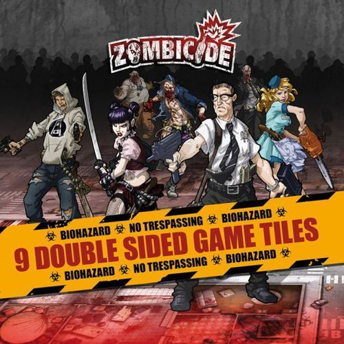 Zombicide: Dodatkowe Kafelki Planszy - sezon 1 (edycja polska) (5901549119312)