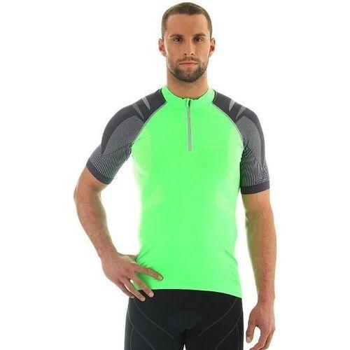 Koszulka rowerowa unisex z krótkim rękawem ss10410 - zielony marki Brubeck