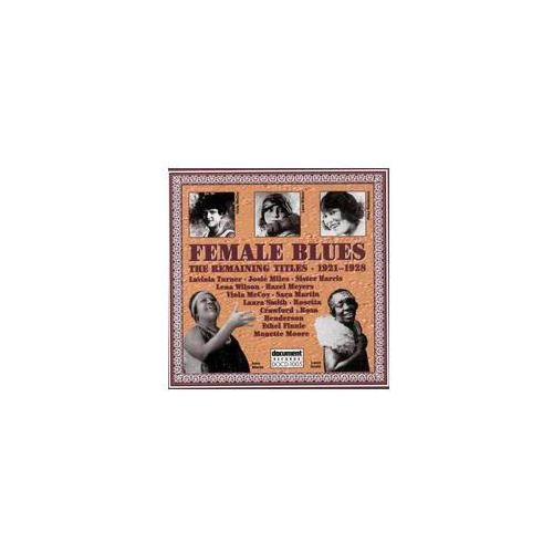 Female Blues '21 - '28 - 24t, DOCD1005