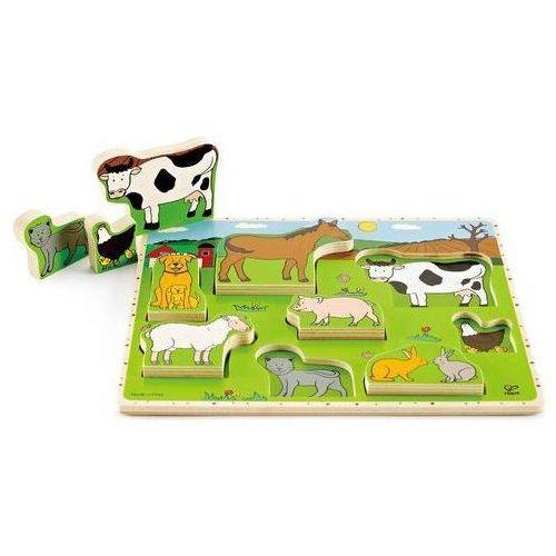 Hape puzzle zwierzęta gospodarskie (6943478003712)